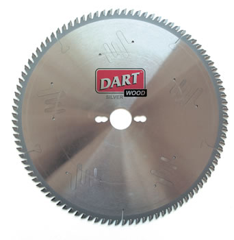 160mm x 24T x 20mm bore Silver TCT Saw Blade